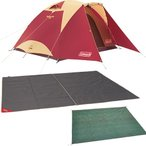 コールマン(Coleman) タフドーム/3025 スタートパッケージ(バーガンディ) 2000027280 [キャンプ テント セット インナーマット グランドシート