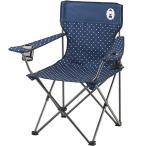 コールマン(Coleman) リゾートチェア (ネイビードット) 2000026736 キャンプ アウトドア バーベキュー 椅子 運動会