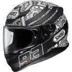 ショウエイ(SHOEI) マルケス デジ アント TC-5(BLACK/WHITE) Z-7 MAQZ DIGI ANT バイク用品 ヘルメット フルフェイス