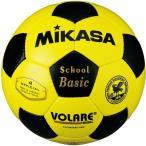 ミカサ(MIKASA) サッカーボール 検定球 黄/黒 SVC402SBC-YBK サッカー 4号球 小学校用