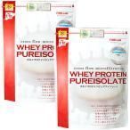 ファインラボ(FINE LAB) ホエイプロテイン ピュアアイソレート 1kg プレーン FLWPI1P 2個セット スポーツ 筋トレ トレーニング タンパク質 たんぱく質