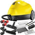 ケルヒャー(KARCHER) スチームクリーナー 洗浄器 SC2 1.512-010.0 ポイントブラシセット 2.863-058.0 家庭用 高温 蒸気 洗浄機 黄砂