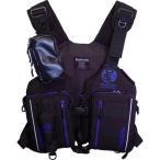 パズデザイン(Pazdesign) アルティメットV-III ブラックブルー フリーサイズ SLV-025 釣り フィッシング ウェア ベスト 収納