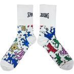 スポルディング(SPALDING)キース・へリング ソックス KH SAS160160 マルチ バスケットボール アクセサリー 靴下