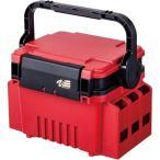 明邦化学工業(MEIHO) ランガン システムBOX 限定カラー マットレッド×ブラック VS-7055SP 釣り具 フィッシング バス タックルケース タックルバッグ