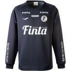 フィンタ(FINTA) メンズ サッカー ドライスウェットトップ ブラック FT8416 0500 長袖 トップス ピステ フットサル
