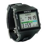 スピンツォ(SPINTSO) レフリーウォッチ ブラック/グレー メンズ SPT100-GR サッカー フットサル 腕時計 バイブレーション振動機能