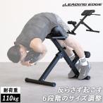 リーディングエッジ バックエクステンションベンチ 2018年改良モデル 折りたたみ 背筋トレーニング用 ベンチ 筋トレ用品 LE-HRC トレーニングベンチ 体幹強化