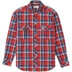フォックスファイヤー(Foxfire) TSシワーチェックシャツL/S 080/レッド 5112734 アウトドアウェア メンズ 長袖 トップス ロング