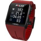 ポラール(Polar) V800 2 HR レッド 心拍センサー付き 90060773 ランニングウォッチ 腕時計 トライアスロン 心拍計 活動量計
