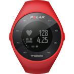 ポラール(Polar) M200 HR レッド(心拍計 GPS) M/L 90061215 ランニングウォッチ 腕時計 トライアスロン スマートウォッチ 活動量計