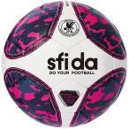 スフィーダ(sfida) フットサルボール INFINITO NEO 4号球 ピンク BSF-IN22 JFA検定球 練習 試合 レプリカモデル