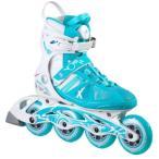 ケーツー K2 レディース インラインスケート VO2 90 BOA ブイオーツ  90 ボア ホワイト ブルー I160201101