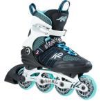 ケーツー K2 レディース インラインスケート ALEXIS ALU アレクシス ブラック ホワイト ブルー I170201201