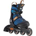 ケーツー(K2) ジュニア インラインスケート レイダー プロ RAIDER PRO ブルー/オレンジ I190200301 プレゼント キッズ 子供 ローラースケート 誕生日