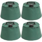 テント タープ用 マルチウエイト 6リットル 4個セット 注水タイプ 屋外用 テントウエイト 重り 錘 おもり 重し 第一ビニール ウェイト スクリーンタープ用