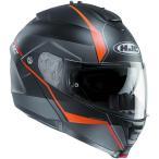エイチジェイシー(HJC) IS-MAXII (マイン)MINE ブラック/オレンジ HJH101 BLK ORG バイク用品 ヘルメット フルフェイス