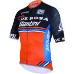 サンティーニ(Santini) デローザ サンティーニ スリーク DE ROSA SANTINI SLEEK 半袖シャツ 自転車 サイクルウェア ロード Tシャツ トレーニング