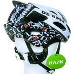 カスク(KASK) ヘルメット MOJITO モヒート DE ROSA REVO デローザ レボ WHT/BLK 自転車 サイクル ロードバイク レース 通勤通学