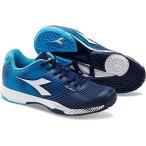 ショッピングディアドラ ディアドラ(diadora) テニスシューズ スピード コンペティション 4 SG 6503:ブルー/Eブルー 172999