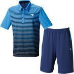 ショッピングディアドラ ディアドラ(diadora) テニス メンズ ゲームシャツ & ゲームパンツ 上下セット DOS7335A 60/DOS7437B 6899