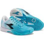 ショッピングディアドラ ディアドラ(diadora) テニス シューズ レディース スピード コンペティション 4 AG セラミック/ホワイト 172998A 6415 靴 オールコート ハードコート
