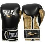 エバーラスト EVERLAST パワーロック トレーニング ボクシング グローブ 合皮 ブラック ゴールド 14オンス P00000723