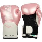 エバーラスト EVERLAST レディース エリート プロスタイル トレーニング ボクシング グローブ 合皮 ピンク ホワイト P00001