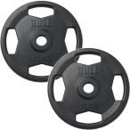 ブル(BULL) ラバープレート 15kg×2枚セット BL-RP15*2 トレーニング用品 バーベル ウエイトトレーニング 重り 筋トレ
