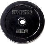 IVANKO(イヴァンコ) スタンダードラバープレート 5kg×1枚 バーベル/ダンベルプレート