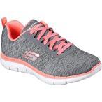 スケッチャーズ(SKECHERS) トレーニングシューズ レディース FLEX APPEAL 2.0 グレー/コーラル 12753W GYCL ウォーキング スニーカー ウィメンズ 靴