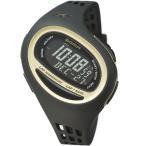 ソーマ(SOMA) ランワン100SL ミディアム RUN ONE 100SL Medium ブラック/ゴールド NS09006 ランニングウォッチ ラップ 腕時計 マラソン
