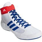 アディダス(adidas) メンズ レディース レスリングシューズ HVC WRESTLING SHOES ホワイト/カレッジロイヤル/アクティブレッド KDO02 BD7129 レスリング