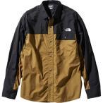 ノースフェイス(THE NORTH FACE) メンズ レディース ロングスリーブヌプシシャツ L/S Nuptse Shirt ブリティッシュカーキ NR11961 BK 長袖 アウター トップス