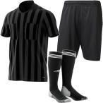 アディダス(adidas) サッカー メンズ レディース 半袖 レフェリーウェア3点セット ブラック DRW46 CF3576/AH9804 BDI66/EBR17 CF6213 審判服 フットサル