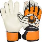 ウールシュポルト(uhlsport) エリミネーターソフトサポートフレーム 1000171 ホワイト×オレンジ×ブラック サッカー キーパー グローブ GK