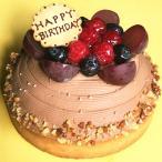 バースデーケーキ 誕生日ケーキ 木苺のチョコレートバースデーケーキ14cm ケーキ スイーツ チョコレート タルトケーキ
