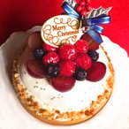 クリスマスケーキ Xmas 2020 予約 木苺のホワイトクリスマスケーキ14cm ケーキ スイーツ タルト 苺たっぷり ギフト プレゼント お取り寄せ 大人 子供
