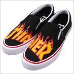 VANS (バンズ)  x Thrasher(スラッシャー)  SLIP-ON PRO (スリッポン)(スニーカー)(シューズ)  (THRASHER)BLACK 291-002282-271x【新品】(フットウェア)