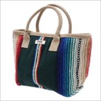 RHC Ron Herman(ロンハーマン) Mexican Tote Bag (トートバッグ) GREEN 277-002459-015+【新品】(グッズ)