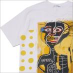 ショッピングCOMME COMME des GARCONS SHIRT(コムデギャルソン シャツ) BASQUIAT TEE (Tシャツ) WHITExYELLOW 200-007898-050x【新品】(半袖Tシャツ)