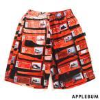 APPLEBUM (アップルバム) Orange Kicks Box Basketball Mesh Shorts [バスケットボールショーツ] Orange Kicks Box 850-003794-049