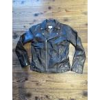 ショッピングused Yoused ユーズド Leather Riders Double Jacket BLACK L A