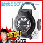 ツインバード 防水CDプレーヤー CD ZABADY AV-J166BR カラオケ機能付 ボーカルカット機能 防水プレーヤー 防水スピーカー TWINBIRD CDプレーヤー A