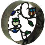 ブロック 塀 壁飾り飾りブロック シャインガラス銅製