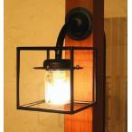 玄関照明 玄関 照明 門柱灯 門灯 外灯 屋外 照明 アイアン クリスタル SR1-CM 門灯 アンティーク風 レトロ ブラケット 照明器具 おしゃれ E17 40W 電球なし