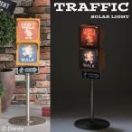 ソーラーライト LED ガーデンライト ディズニー 信号ソーラーライト ヴィンテージミッキー 外灯 ベランダ テラス 照明器具 かわいい