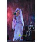 ハロウィン halloween コスプレ 仮装 衣装 大人  鬼新婦 魔女 コスチューム ハロウィンパーティー クリスマス  魔女 ワンピース ドレス