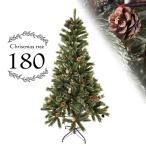 クリスマスツリー  ヌードツリー 180cm 選べる クリスマス ツリー スリム 北欧 おしゃれ 緑 白 ホワイト cm18b
