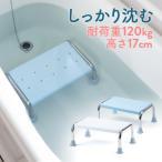 浴槽台 浴槽内 椅子 風呂 浮かない 半身浴 踏み台 ステップ台 ゴム足付き 介護用品 敬老の日 プレゼント EEX-SUPA10 ネコポス非対応